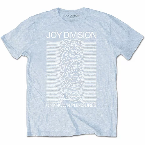 Official Joy Division Unknown Pleasures T-Shirt - Blue