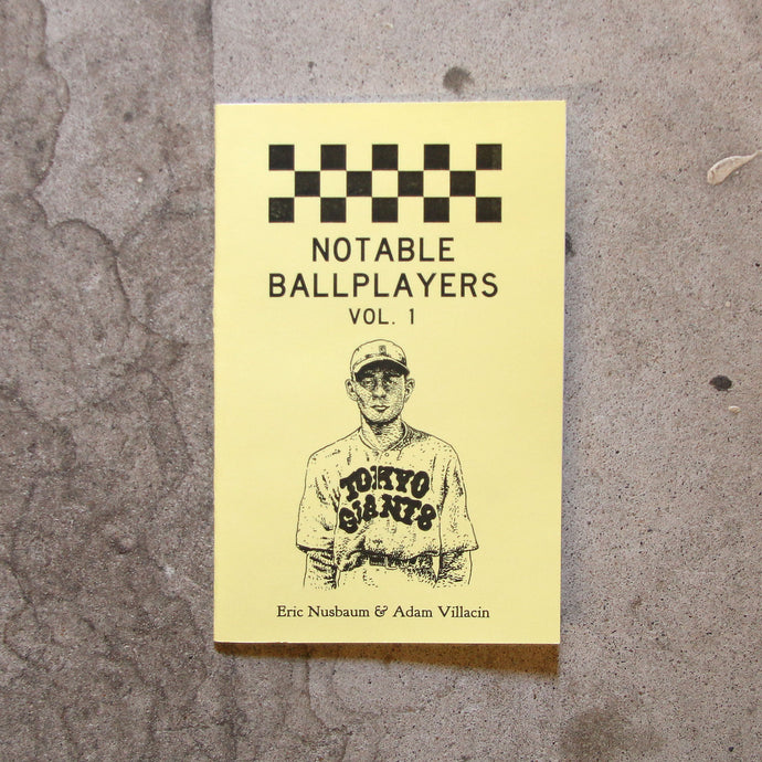 Notable Ballplayers Vol. 1 by Adam Villacin