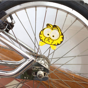 Garfield Bike Reflector