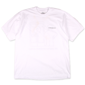 Konfuzed Man Short Sleeve T-shirt - White