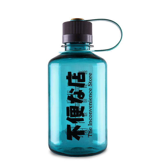 Kiosk Logo 16oz Nalgene bottle - Aqua