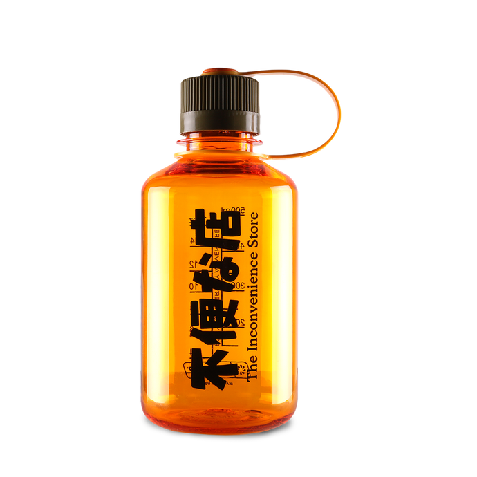 Kiosk Logo 16oz Nalgene bottle - Orange
