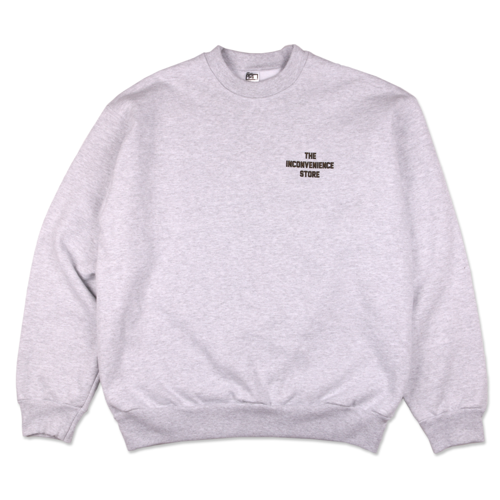Shop Logo Crewneck Sweatshirt - Ash