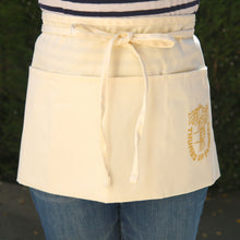 Load image into Gallery viewer, Thumbs Up Flowers Waist Apron