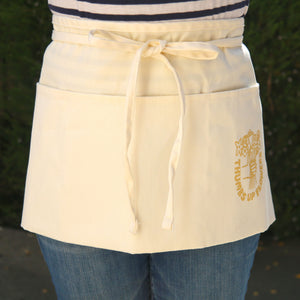 Thumbs Up Flowers Waist Apron
