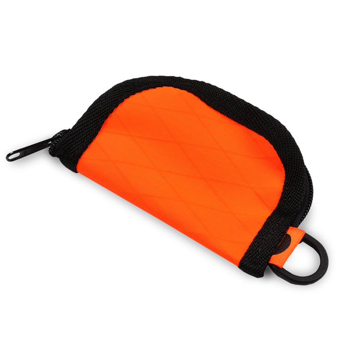 Zipper Wallet X-Pac Neon Orange