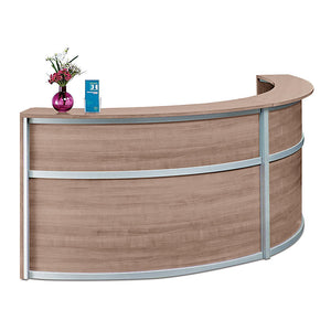 Compass Dual Unit All-Laminate Reception Desk