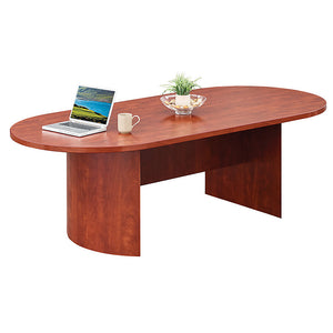 "Encompass 96"" Oval Shape Conference Table"