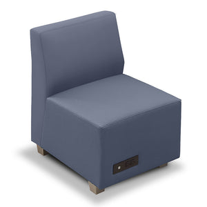 Compass Armless Lounge Chair with Power