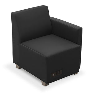 Compass Lounge Chair with Left Arm and Power