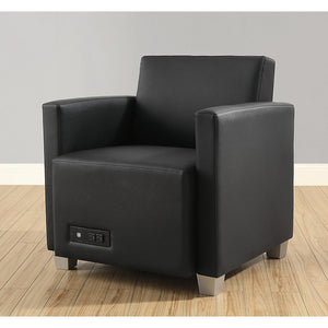 Compass Lounge Chair with Arms and Power