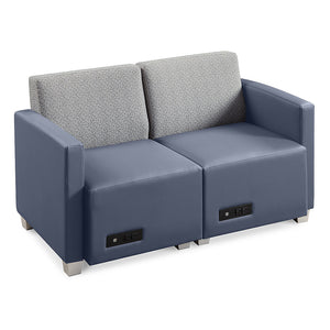 Compass Loveseat Configuration, 1Left/1Right