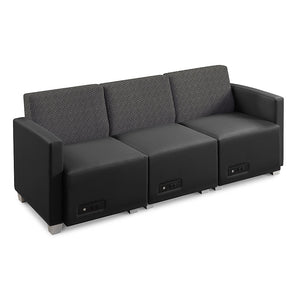 Compass Sofa Configuration, 1 armless chair/1 right/1 left
