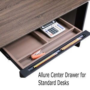 Allure Center Drawer for Standard Height Work Desks, Returns and Credenzas
