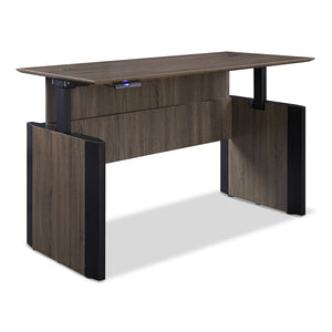 "Allure 66"" x 30"" Height Adjustable Desk"