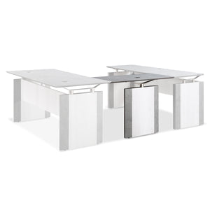 "Allure 42"" x 20"" Reversible Desk Bridge"