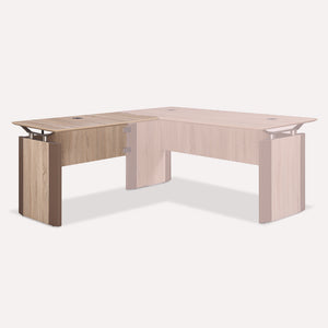 "Allure 42"" x 24"" Reversible Desk Return"