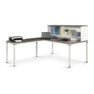 "Element 71"" L-Desk with Hutch"