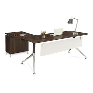 "Astoria 71""W Modern Reversible L-Desk"