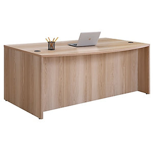 "Formation 72""W x 42""D Bow Front Desk Shell"
