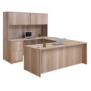 Formation Fully Reversible U-Desk Configuration, Hutch/BBF/FF