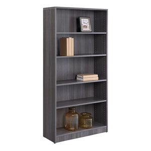 "Formation Five Shelf Bookcase 69""H"