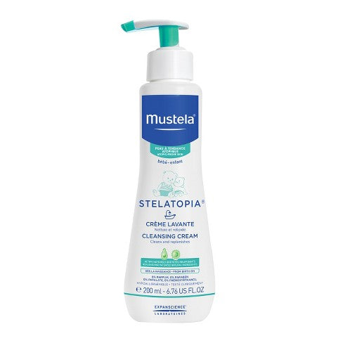Mustela- Stelatopia Baby Gel, Very Sensitive Skin, 10.14 fl oz