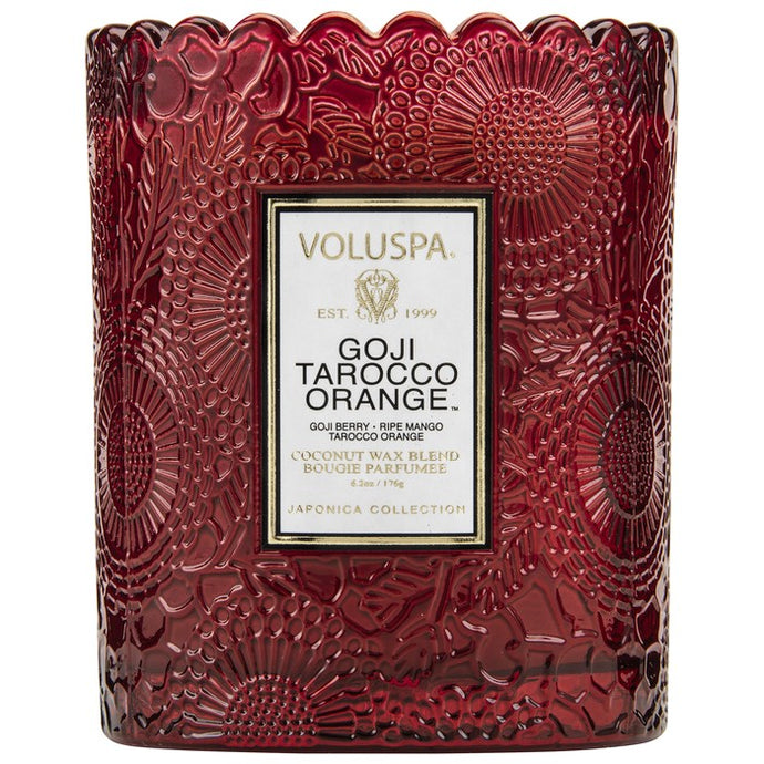 Voluspa Goji Tarocco Orange Candle