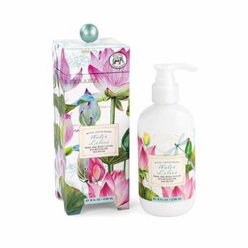 Michel Design Work Water Lilies body lotion 8 oz