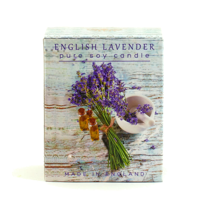 English Lavender Candle By The English Soap Co