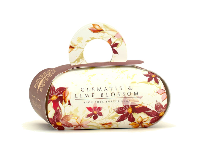 Clematis and Lime Large Soap By The English Soap Co