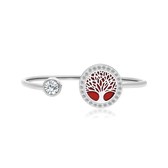 Anavia Premium Tree of Life Twistable Cuff Bangle