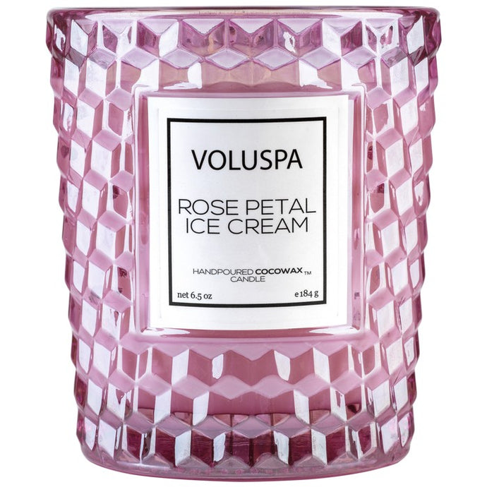 Voluspa Rose Petal Ice Cream 6.5oz Candle