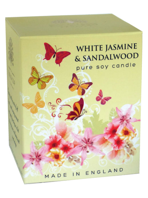 White Jasmine Candle By The English Soap Co