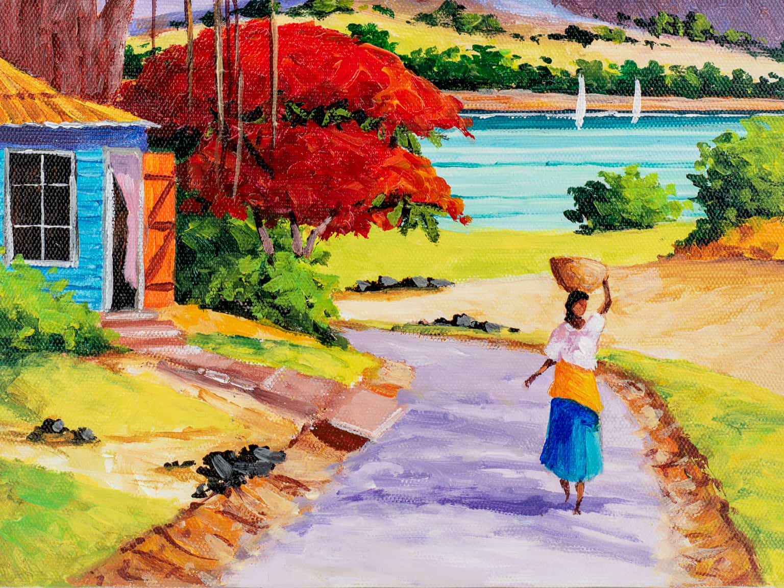 DodoMarket-Souvenirs-Fine-Art-Collection-Original-Painting-by-Mauritius-Artist