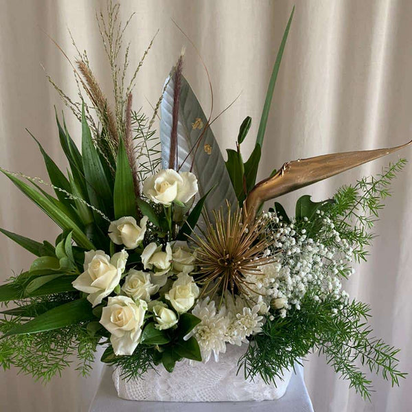 Funeral flowers delivery Mauritius