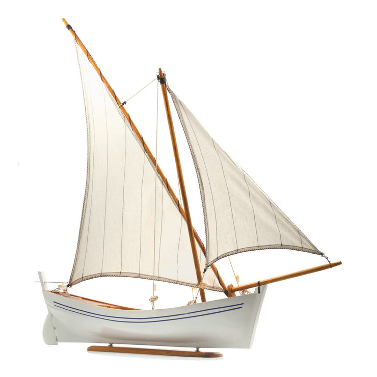 "Mauritius-Handmade-Ship-Model-Traditional Pirogue ""Wind Dancer""-DodoMarket-Souvenirs"