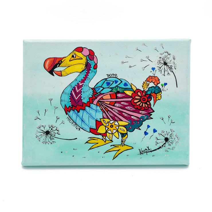 "Mauritius-Authentic-HandMade-Painting-Kinga, ""Dodo""-DodoMarket"