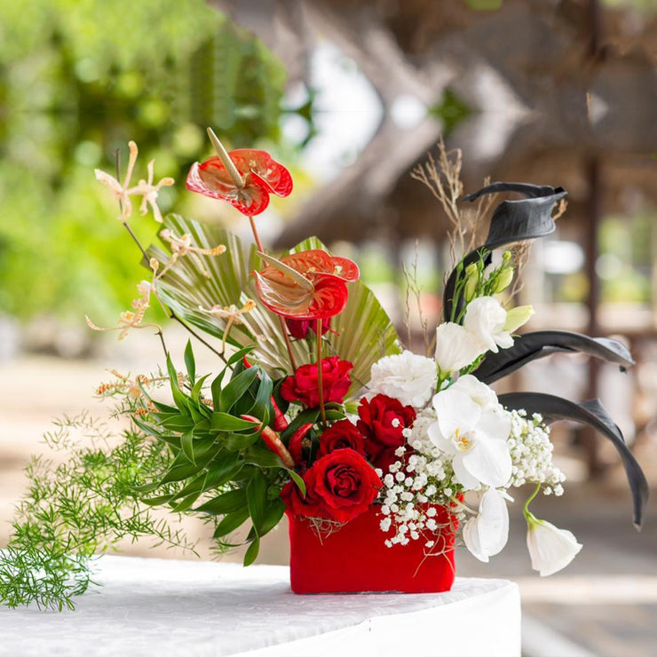 Flowers-modern-bouquet-same-day-delivery-Mauritius