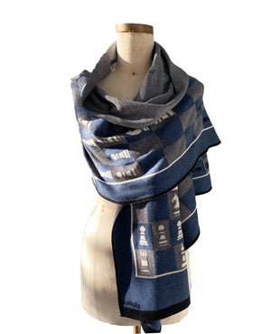 Travel Chess Scarf