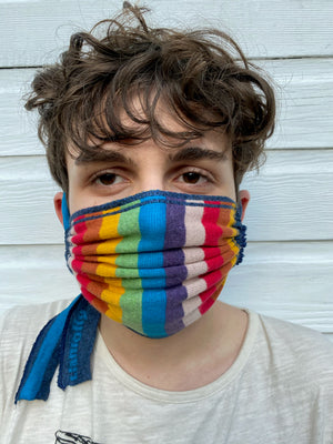 Load image into Gallery viewer, Rainbow Face mask