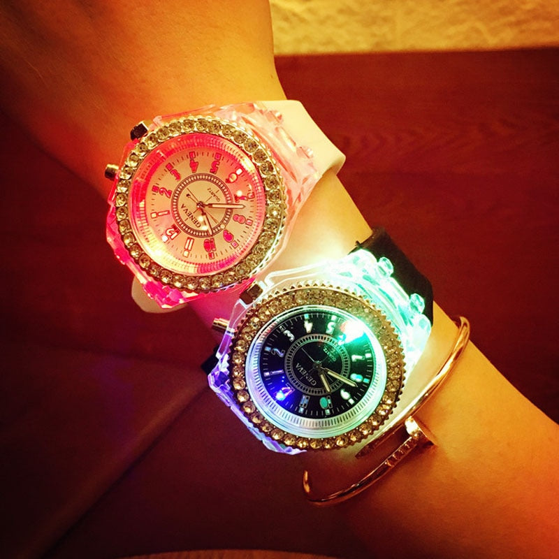 Luxury Brand Illuminated LED Light Watch.