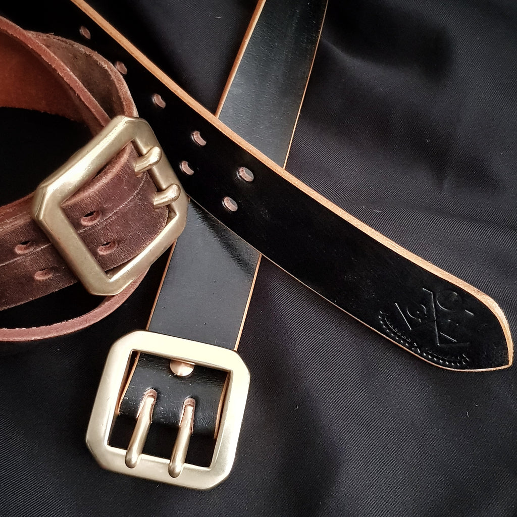 Working (Vids) on Handmade Leather Belts by Obbi Good Label
