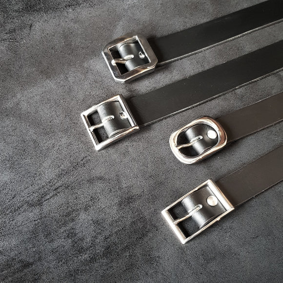 Formal-Wear Leather Belts Available Now