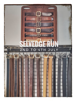 Obbi Good Label: Selvedge Run July 2019