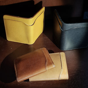 The various styles of Condor Collection Wallets