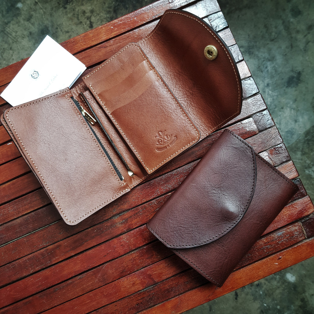 Italian Yankee Leather Wallets