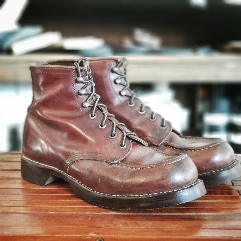 RGS Resole/Rebuilt Leather Boots