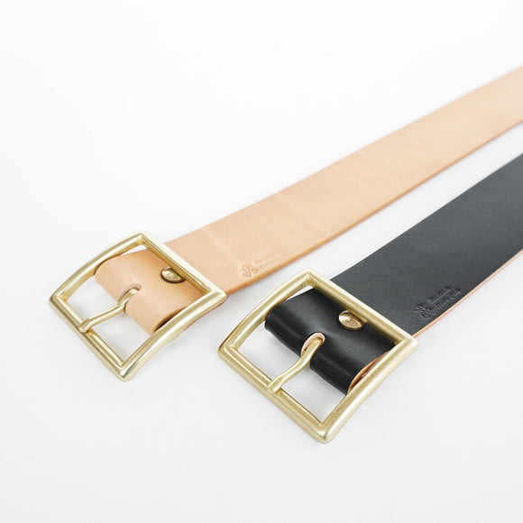(PROTO) OGL BELT VINTAGE 1.75 LEATHER BELT HAND-DYED