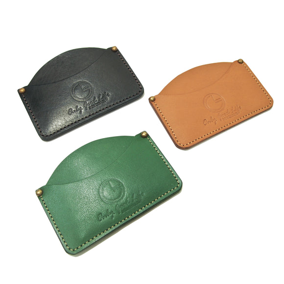 OGL ONLY GOOD LIFE LEATHER BUSINESS CARDHOLDER